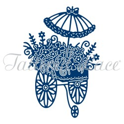 (ACD1041)Tattered Lace Flower Cart