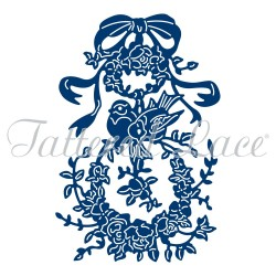 (ACD1033)Tattered Lace Vintage Ornament