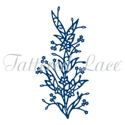 (ACD1028)Tattered Lace Baby's Breath