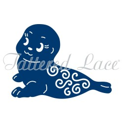 (ACD1006)Tattered Lace Seal
