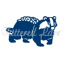 (ACD980)Tattered Lace Badger