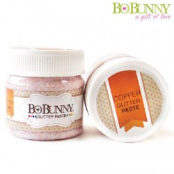 (12840593)Bo Bunny glitter paste copper