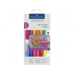 (FC-121813)Faber Castell Mix & Match Gelatos Brights 15pc