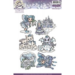 (YCCS10006)Stamps - Yvonne Creations Magical winter