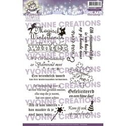 (YCCS10007)Stamps - Yvonne Creations Magical winter text