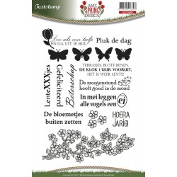 (ADCS10003)Clearstamp - Amy Design - Spring