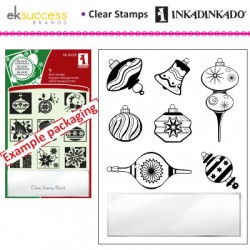 (60-31156)Inkadinkado clear stamp ornament shapes