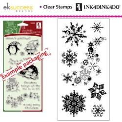 (98397)Inkadinkado clear stamp snowflakes