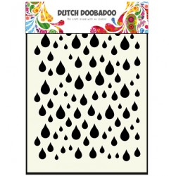(470.741.002)Dutch Mask Art Rain drops