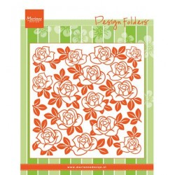 (DF3423)Marianne Design Folder Roses