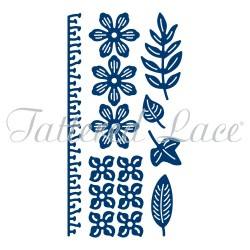 (ACD1008)Tattered Lace Botanical Blooms