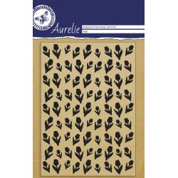 (AUCS1021)Aurelie Tulips Background Clear Stamp