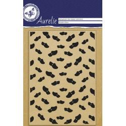 (AUCS1022)Aurelie Wooden Shoes Background Clear Stamp