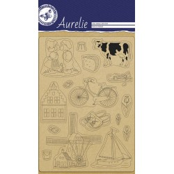 (AUCS1023)Aurelie Made In Holland Clear Stamps