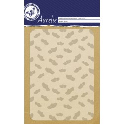 (AUEF1022)Aurelie Wooden Shoes Background Embossing Folder