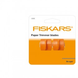 (9596)Fiskars replacement blades x2 straight for 9598 + 9590
