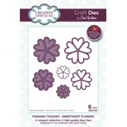 (CED1455)Craft Dies - Sweetheart Flower