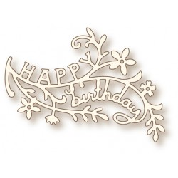(SD0064)Wild Rose Studio`s Specialty die - Birthday Branch