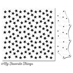 (BG-69)My Favorite Things Starry Night Builder Background Stamp