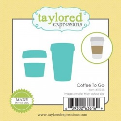 (TE753)Taylored Expressions Little Bits - Coffee To Go