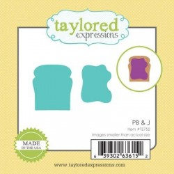(TE752)Taylored Expressions Little Bits - PB & J