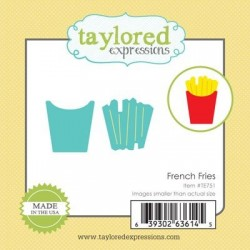 (TE751)Taylored Expressions Little Bits - French Fries