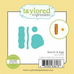 (TE750)Taylored Expressions Little Bits - Bacon & Egg