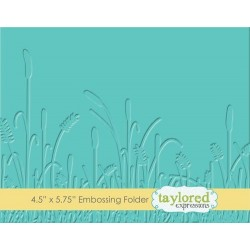 (TEEF27)Taylored Expressions Prairie Embossing Folder