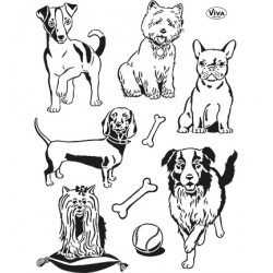(4003 141 00)Clear Stamps - Hunde
