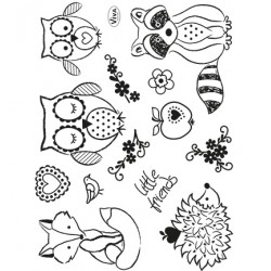 (4003 153 00)Clear Stamps - Little Friends