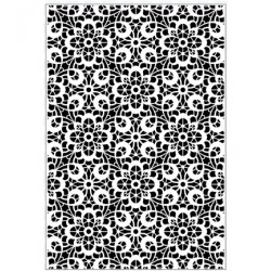 (EF-063)Embossing folder A4 Provencal Lace