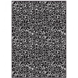 (EF-060)Embossing folder Daisy Burst