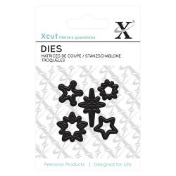 (XCU503617)Mini Die (5pcs) - Mini Stars