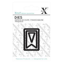 (XCU503622)Mini Die (3pcs) - Bunting