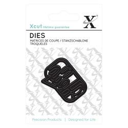 (XCU503624)Mini Die (1pc) - Hello