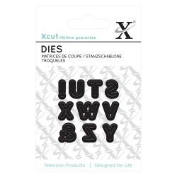 (XCU503627)Mini Die (9pcs) - Alphas pt. 3