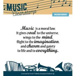 (MUSS10001)Clearstamp - Music Series