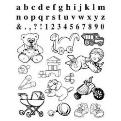 (770004/391)Crea Clear Stamp 14 x 18 cm Baby