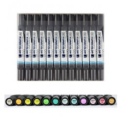 (KC-3000/12B3)ZIG Alcohol Marker Set Set Natural Colours