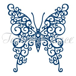(ACD1081)Tattered Lace Beautiful Butterfly