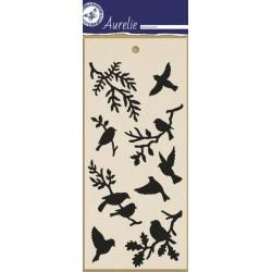 (AUMS1005)Aurelie Birds 1 Masking Stencil