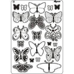 Pergamano Multi grid 31, Butterflies 2 (31440)