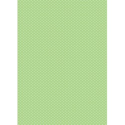Pergamano Parchment paper dots - green 5S (61619)