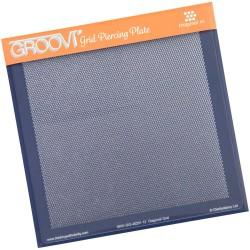 (GRO-GG-40201-12)Groovi Grid Piercing Plate Diagonal