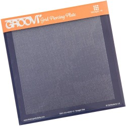 (GRO-GG-40202-12)Groovi Grid Piercing Plate Straight