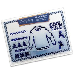 (STA-CH-10063-A5)Claritystamp clear stamp Jumper And Patterns