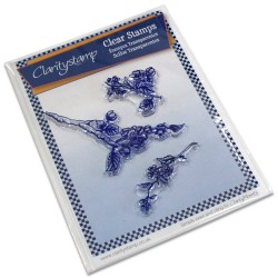 (STA-FL-10010-A5)Claritystamp clear stamp Blossom Branches