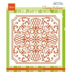 (DF3426)Marianne Design Folder Anja's Square