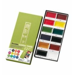 (MC20/12V )ZIG Gansai Tambi Set 12 colours