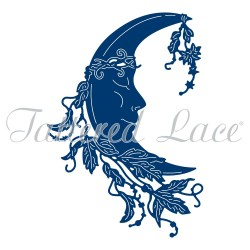 (ACD1261)Tattered Lace Moon